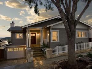 Проект одноэтажного дома с панорамными окнами