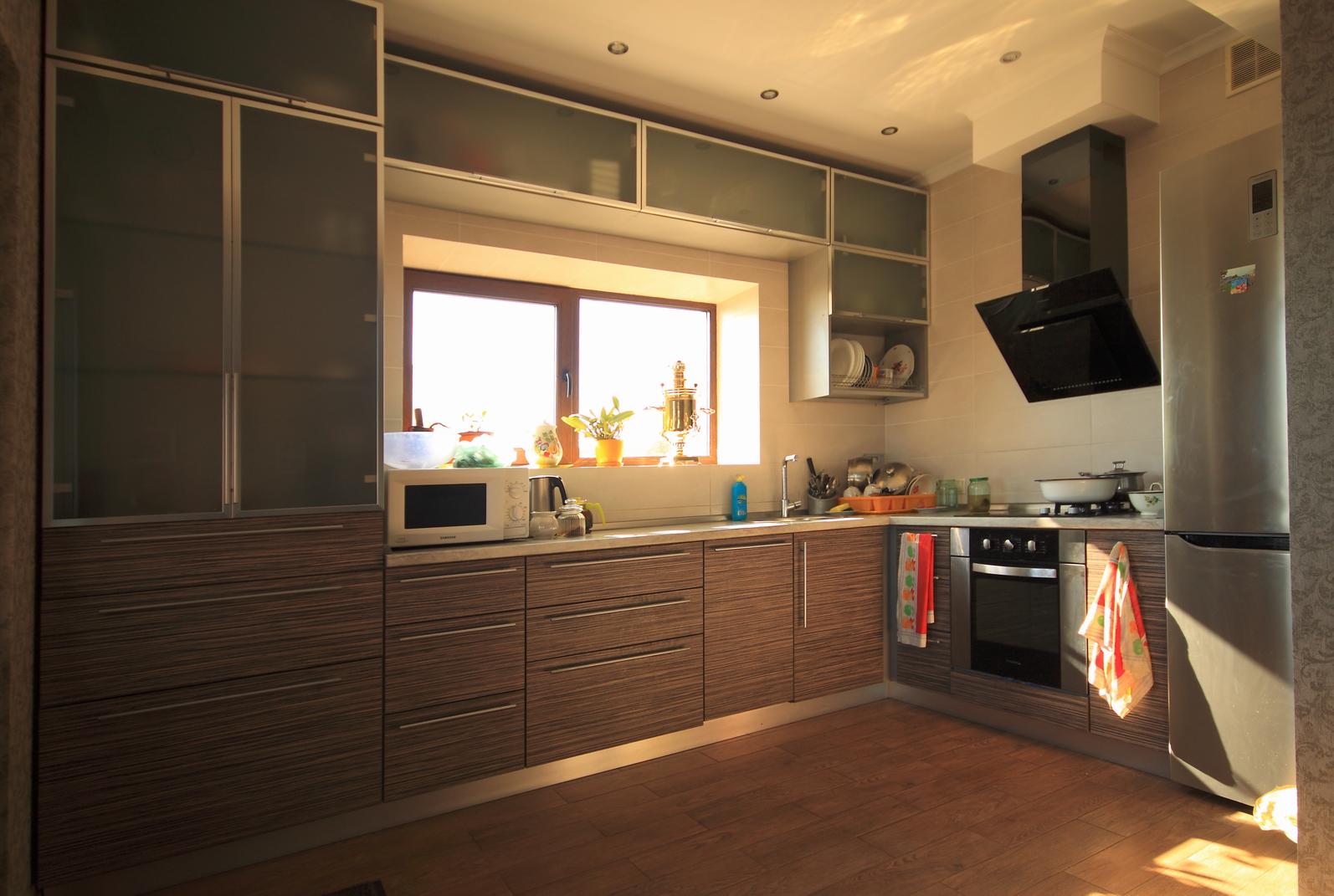 Реализация проекта Ворскла - Проект дома на склоне, кухня
