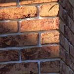 Проект дома с плоской кровлей, панорамными окнами и террасами - проект Эбро, материалы фасадов кирпич