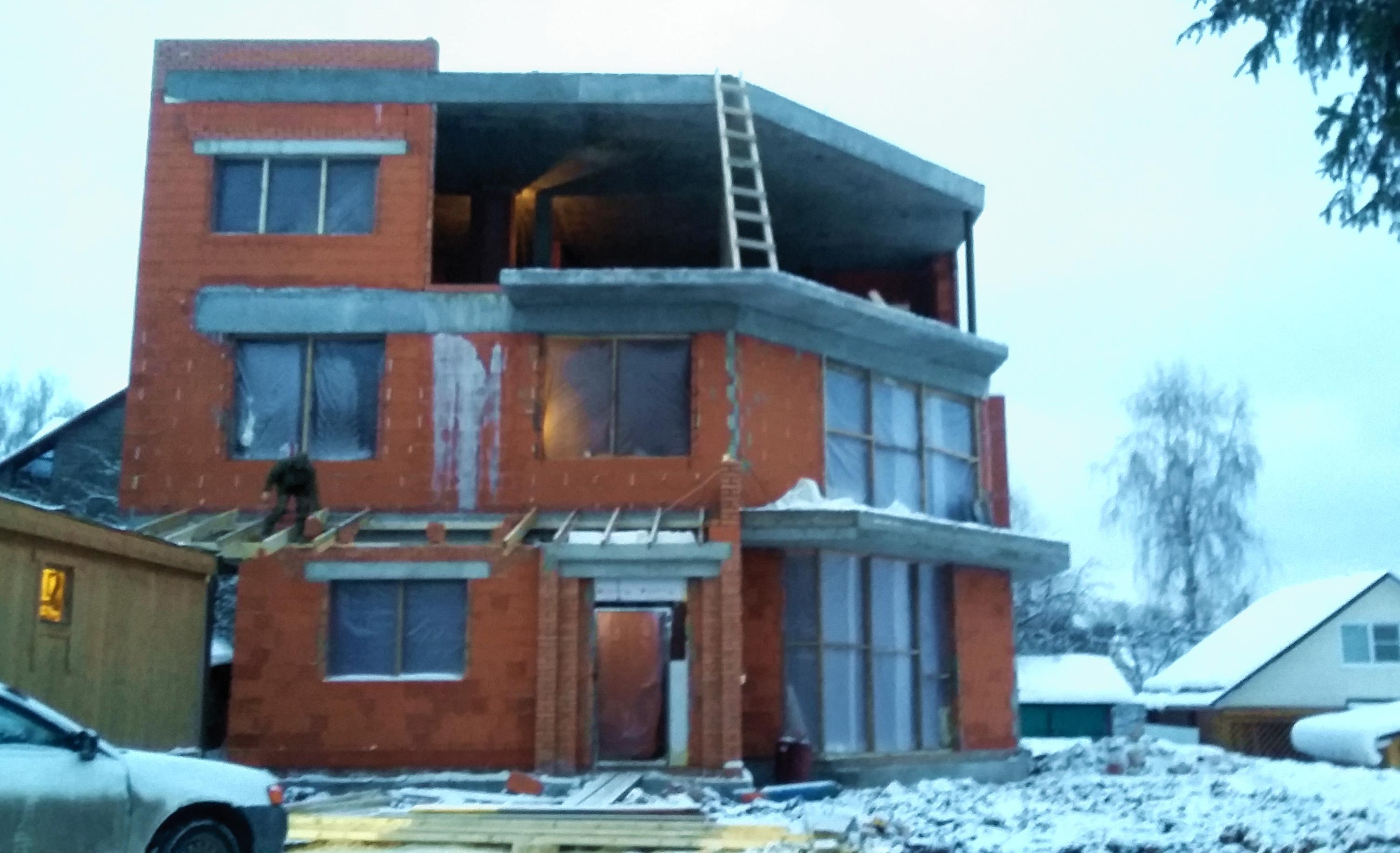 Проект Сиверка, Нижний Новгород, консервация на зиму