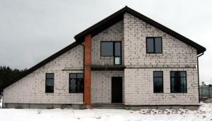 Проект дома А3 в фахверковом стиле, реализация