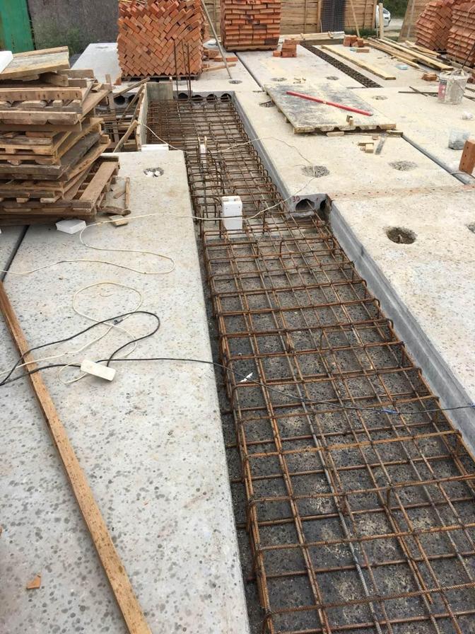 Проект А8, 2018, сентябрь, перекрытие над подвалом