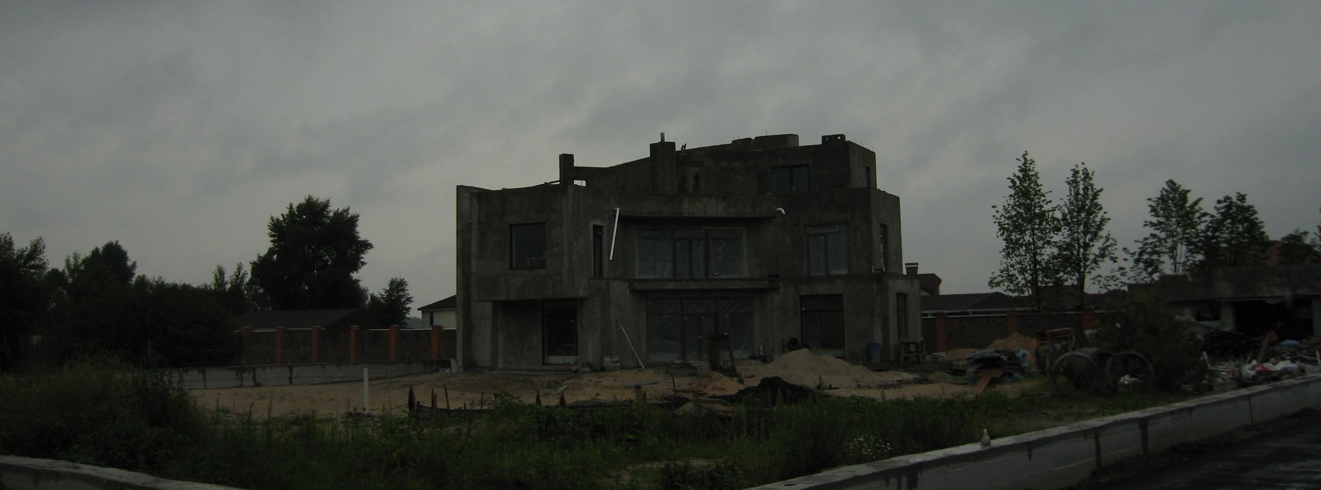 Проект дома с плоской кровлей, панорамными окнами и террасами - проект Эбро, Строительство и надзор