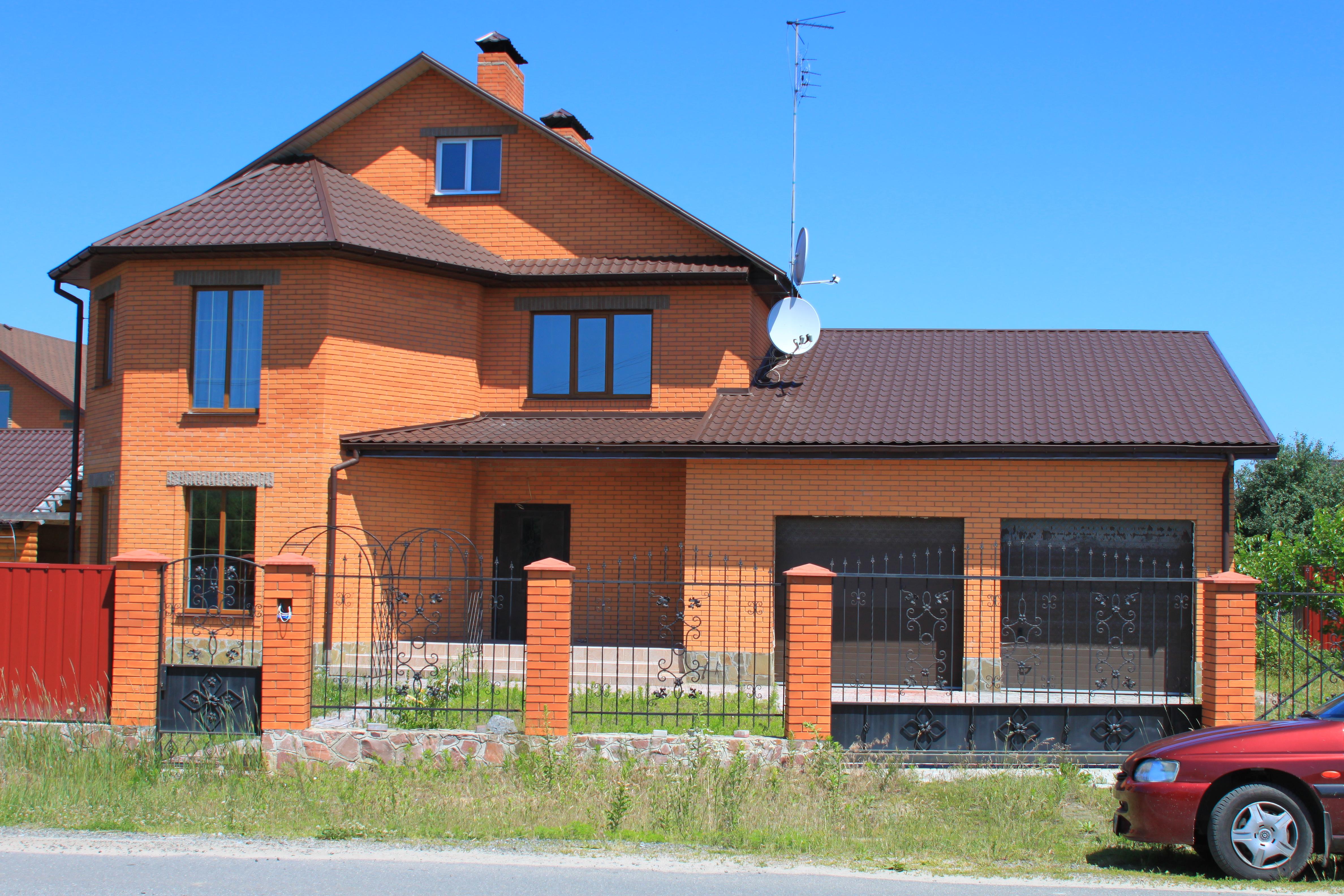 Внешний вид, проект Эльба-290 - проект дома с террасами