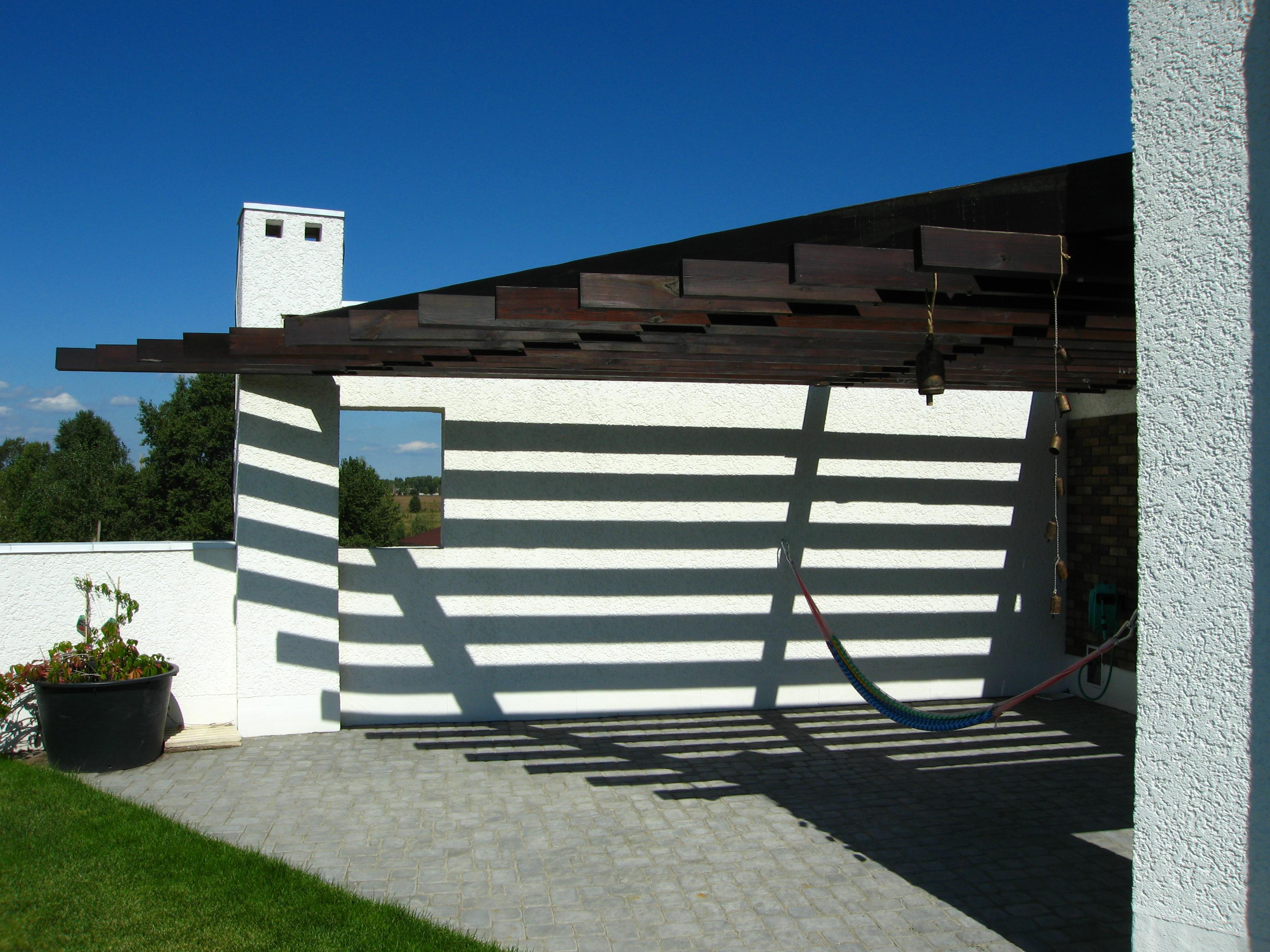 Проекты домов с плоской крышей Проект Эбро, кровля эксплуатируемая - проекты современных домов