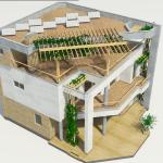проект будинку з плоским дахом Парма-240, зовнішній вигляд