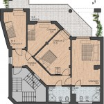 проект дома с плоской кровлей Парма-240, план 2 этажа